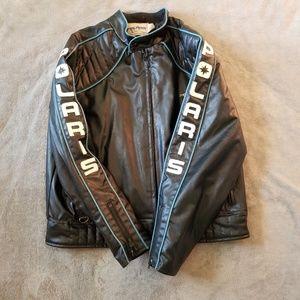 Vintage Polaris 600 Black Moto Jacket Coat XXL